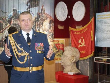 Открытие выставки в Музее боевой славы Урала