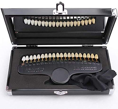 3D Tooth Shade Guide with Case