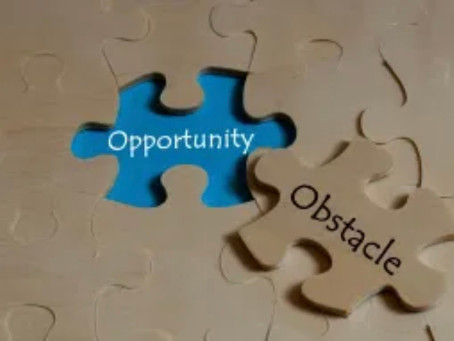 Turn Obstacles into Opportunity