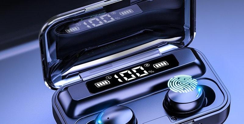Bluetooth 5.0 Earphones 2200mAh Charging Box Wireless Headphone