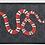 Thumbnail: Kingsnake print GG Supreme zip around wallet
