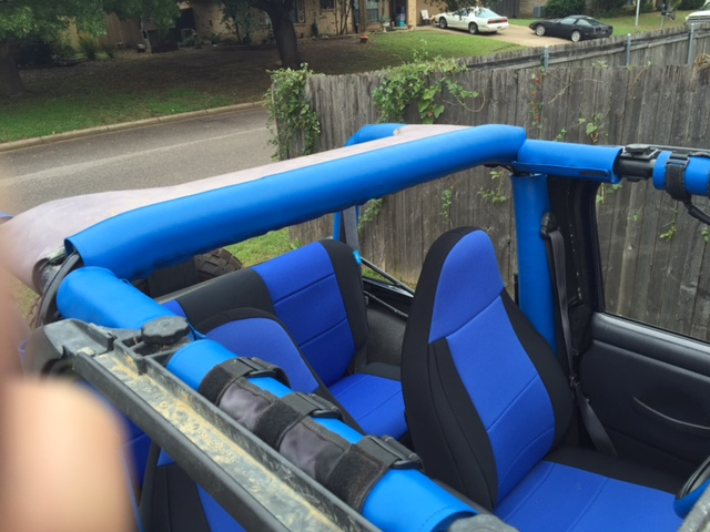 Jeep Roll Bar Covers United States Candy Covers