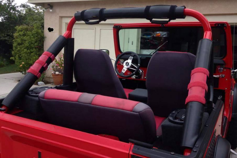 Candy Cover Kit Cj 5 Amp 7 Oem Cage Candy Covers