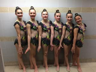 Fin de semana de competiciones para la Escuela de Iniciación y el Club Gimnasia Ciudad de Móstoles