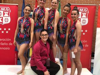 El Club Gimnasia Ciudad de Móstoles directo a la Final de la Comunidad de Madrid