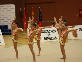 Exitoso Trofeo de Gimnasia Rítmica organizado por el Club Gimnasia Ciudad de Móstoles