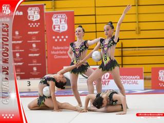 Clasificación directa a la final de la Federación Madrileña de Gimnasia