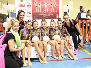 Exitoso fin de semana para el conjunto Cadete del Club Gimnasia Rítmica Ciudad de Móstoles