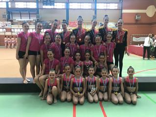 Más triunfos para el Club Gimnasia Ciudad de Móstoles