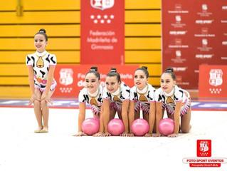 Jornadas de Gimnasia Rítmica de competición en Arganda