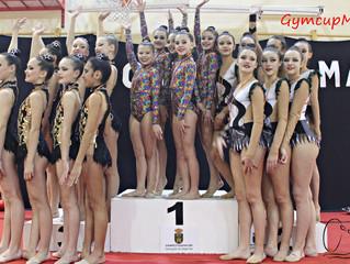 Fin de semana intenso para el Club Gimnasia Ciudad de Móstoles