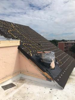 Condo Steep Slope Tile ReRoof