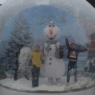 Olaf in our Snow Globe