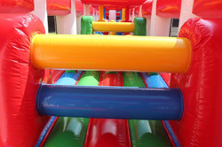 Inside the Inflatable Circus Company's Assault Course