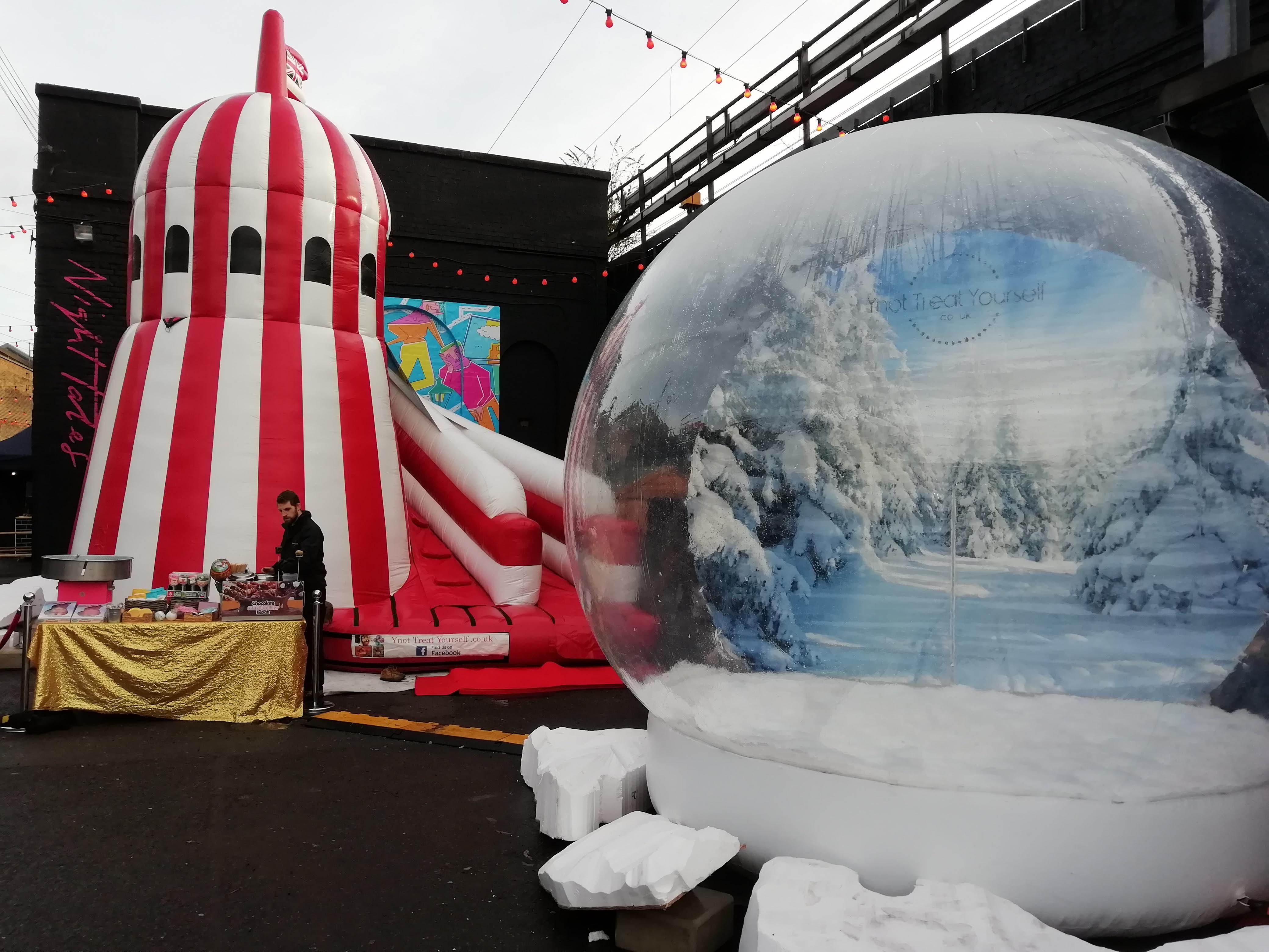 Helter Skelter and Snow Globe