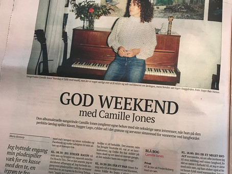 GOD WEEKEND med Camille Jones