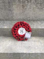 BW Parish Council remembers VJ75