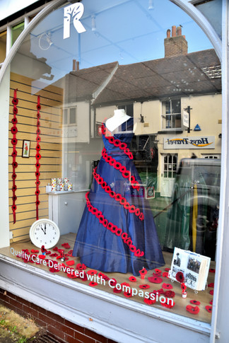 Rowan's Remembrance Day Window