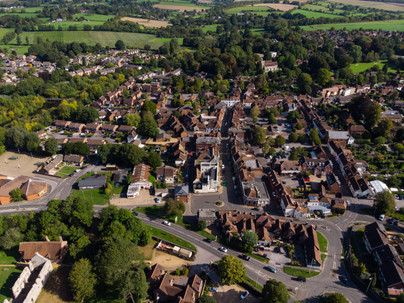 BW Town Centre from the air