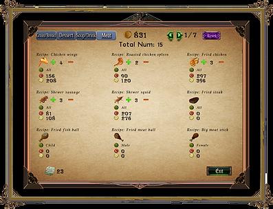 Singaria tavern system 2
