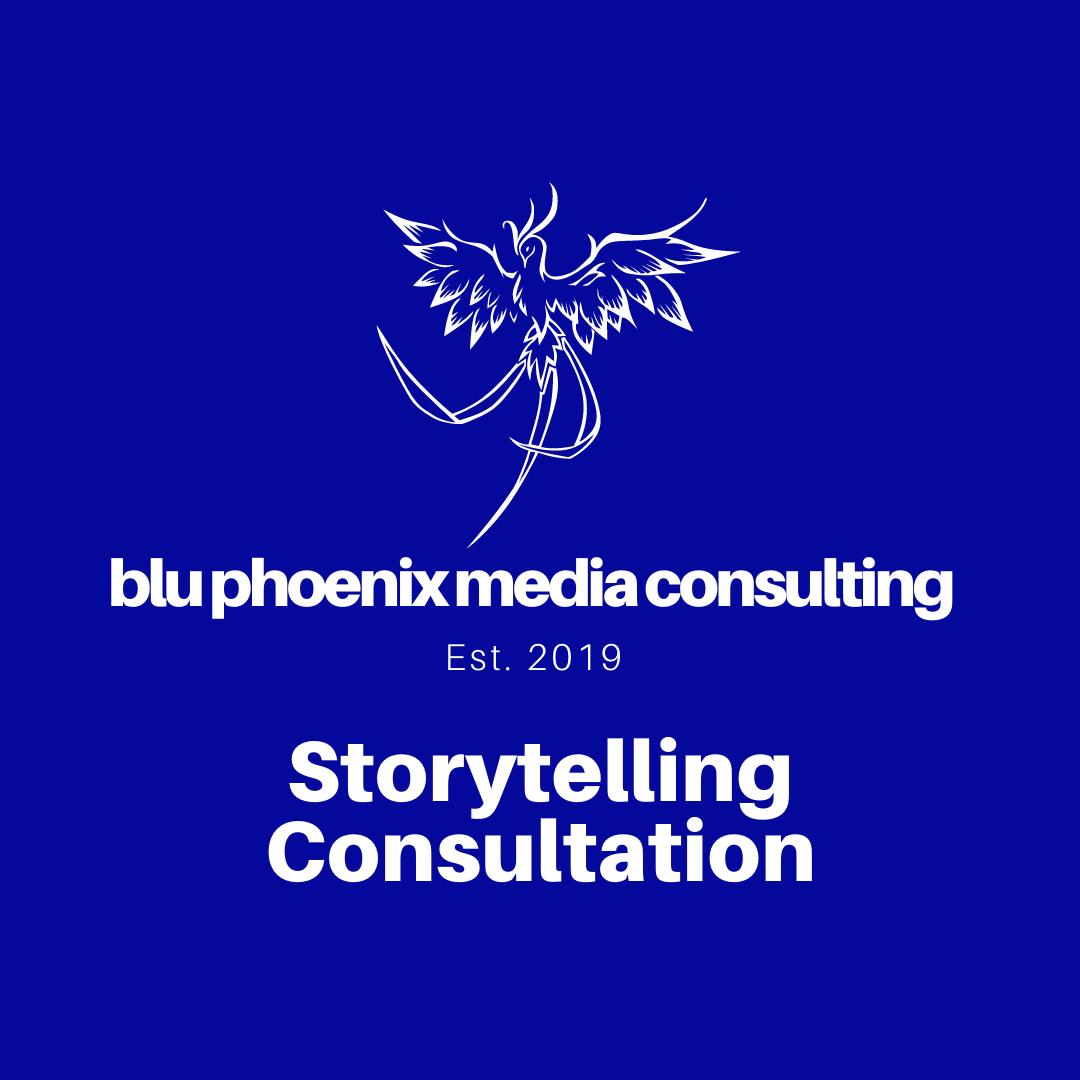 1-on-1 Storytelling Consultation
