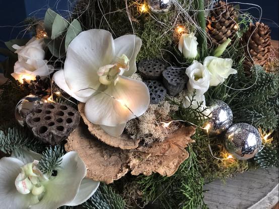 Kerstboom detail