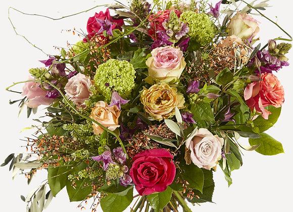 Romantisch boeket met rozen