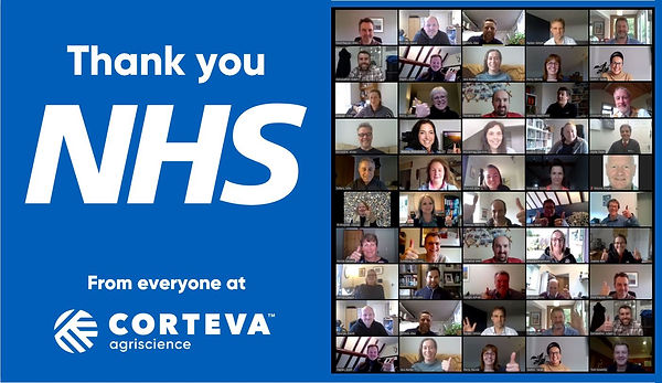 Thank you NHS from Corteva Agriscience.J