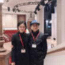 Mr HUANG Mao Zhan and Miss HUANG Yu Yuk.