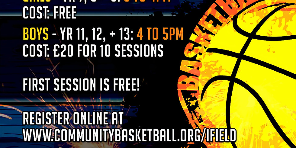 Ifield CC Basketball Academy
