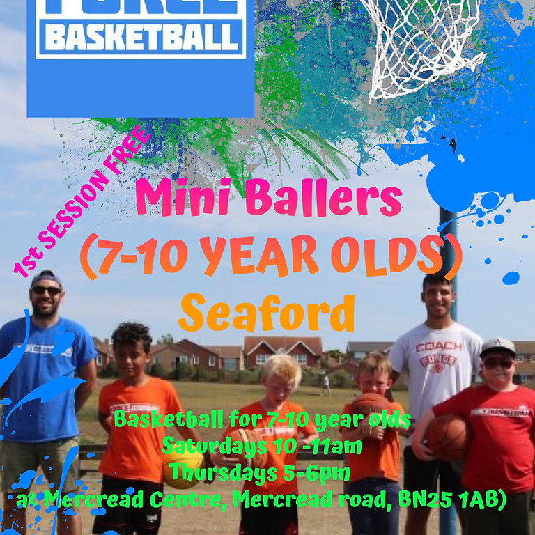 Mini Ballers (7-10 year olds)