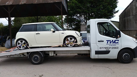 car recovery south wales