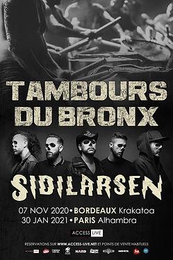 Les Tambours du Bronx Sidilarsen 2020-20