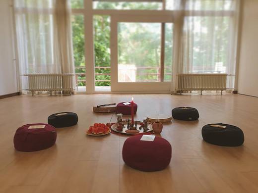 Training mindfulness in het Vijfde Huis in Gouda