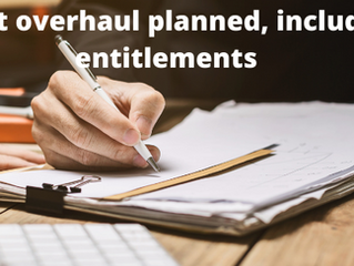 Planned Changes to Leave Entitlements