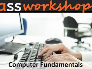 New 2021 Workshop – Computer Fundamentals