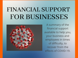 COVID-19 support for business