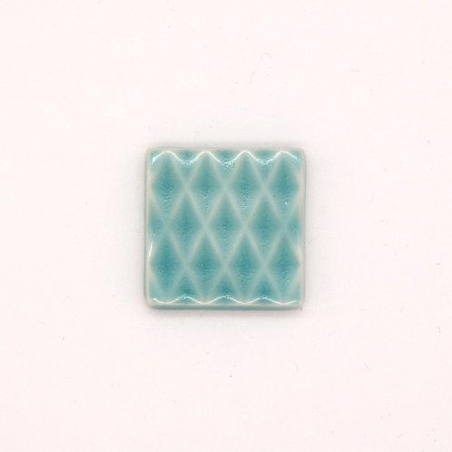 波佐見焼 箸置き 切子箸置き シンプル エメラルドブルー