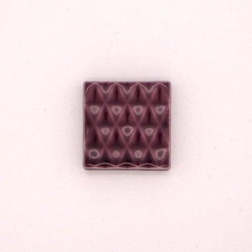 波佐見焼 箸置き 切子箸置き シンプル パープル 紫