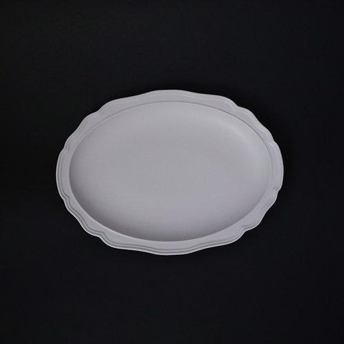 フレア サクラ リム皿 美濃焼 おしゃれ 食器 ワンプレート 美濃焼【saraieオリジナル】