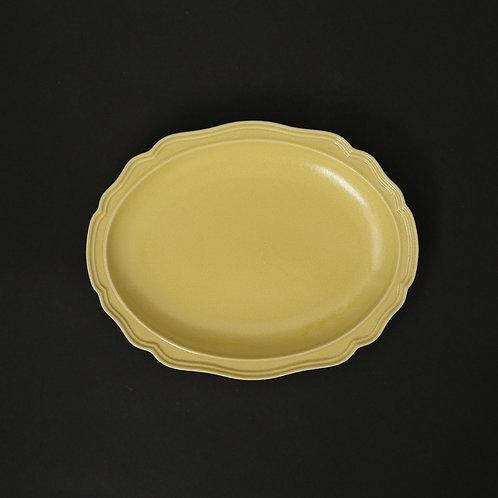 フレア パイン リム皿 美濃焼 おしゃれ 食器 取り皿 小【saraieオリジナル】