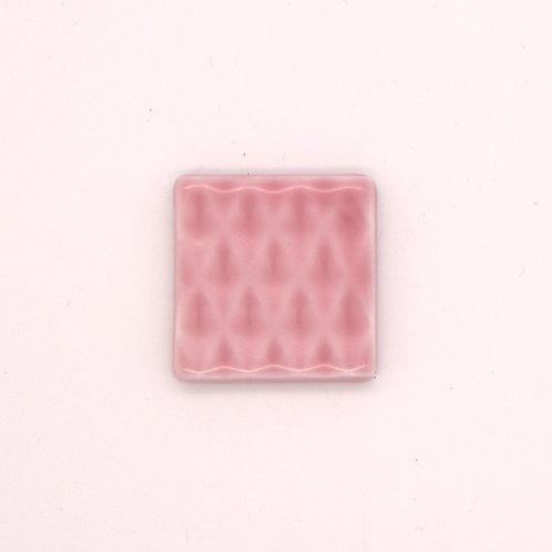 波佐見焼 箸置き 切子箸置き シンプル ピンク