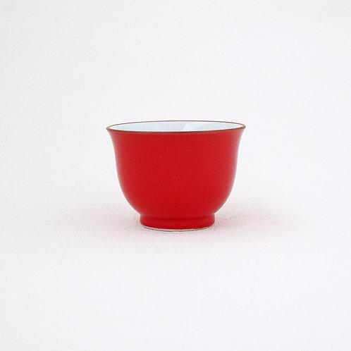 波佐見焼 仙茶 赤 レッド