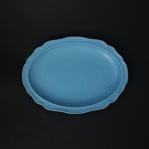 フレア スカイ リム皿 美濃焼 おしゃれ 食器 ワンプレート 美濃焼【saraieオリジナル】