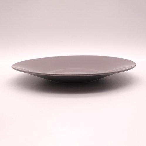 美濃焼 カラーシリーズ 大皿 グレー 22cm【はさみの大吉オリジナル】