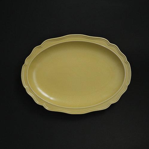 フレア パイン リム皿 美濃焼 おしゃれ 食器 ワンプレート 美濃焼【saraieオリジナル】
