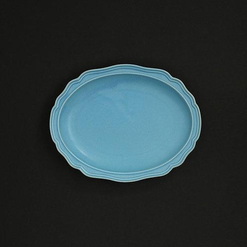 フレア スカイ リム皿 美濃焼 おしゃれ 食器 取り皿 小【saraieオリジナル】