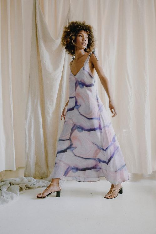 COSSAC - Maxi dress print
