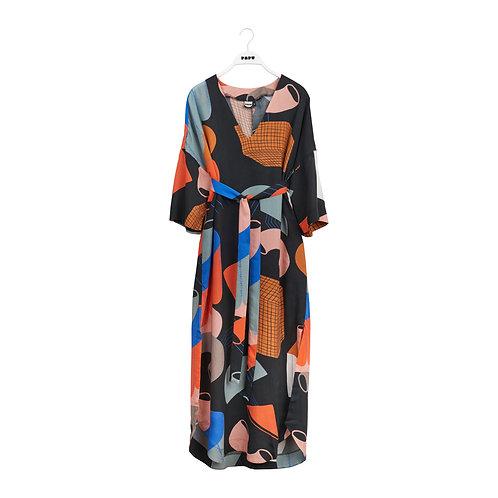 PAPU - Caftan dress Utopia print