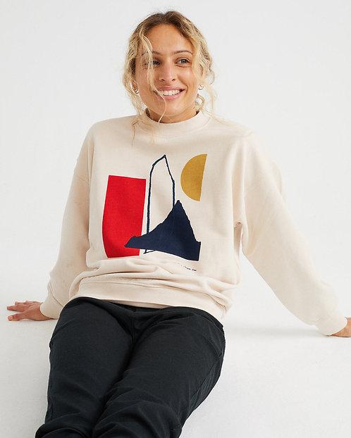 THINKING MU - Sweatshirt abstract bone